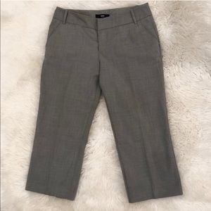 Mossimo gray cropped loose pants with stretch 6